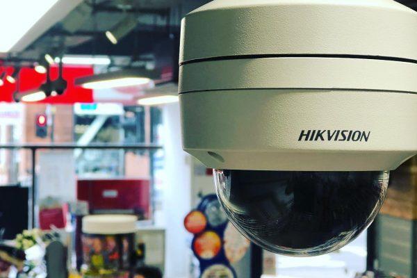 Hikvision Camera Covering Shop Floor